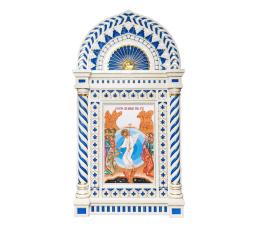 Icon on porcelain